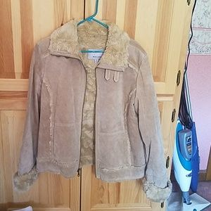 Wilson's leather suede jacket.